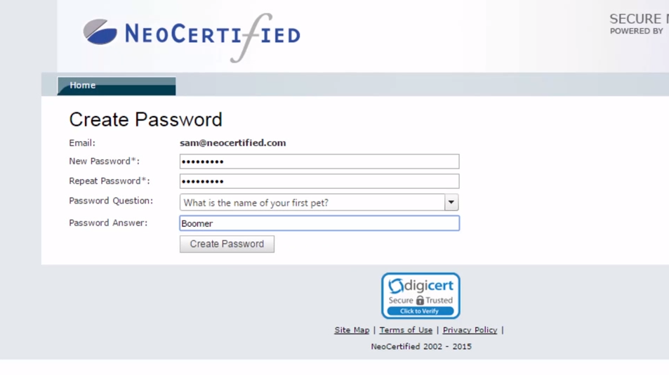 NeoCertified Secure Email For Outlook Video Overview Page